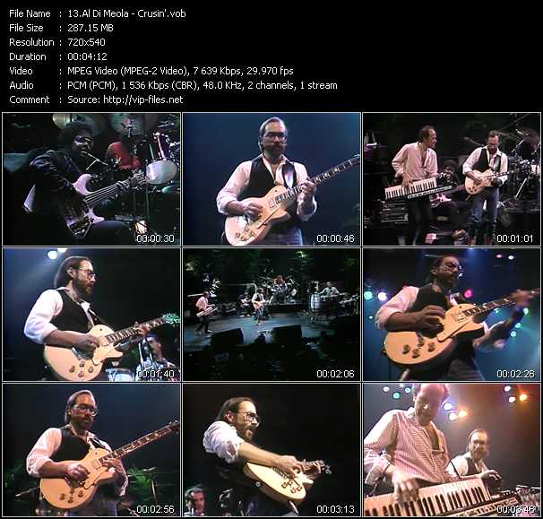 Al Di Meola video screenshot