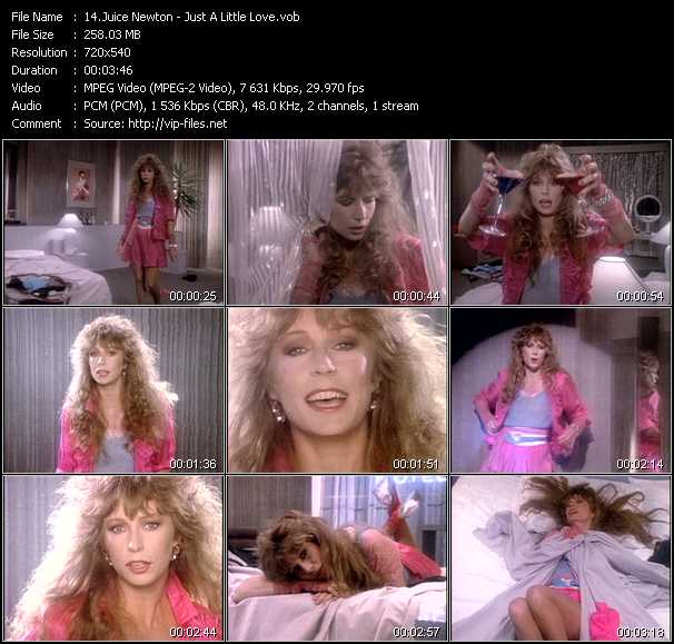 Juice Newton video screenshot