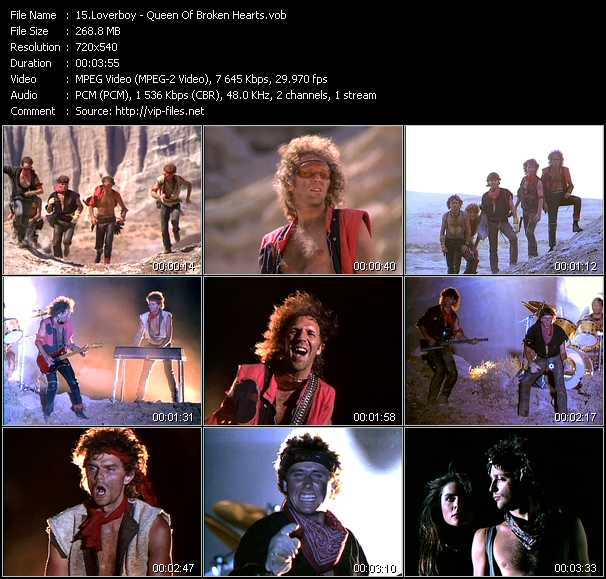 Loverboy video screenshot