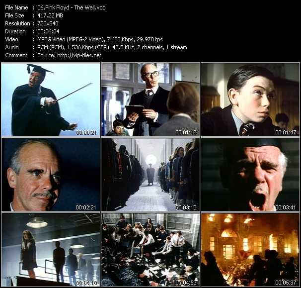 Pink Floyd video screenshot