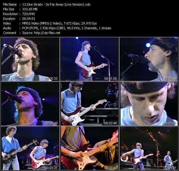 Dire Straits video screenshot