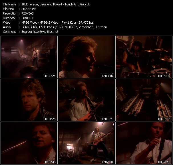 Emerson, Lake And Powell (ELP) video screenshot