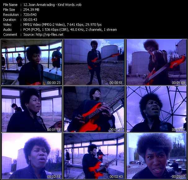 Joan Armatrading video screenshot
