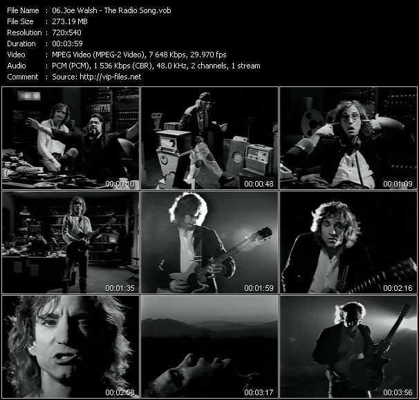 Joe Walsh video screenshot