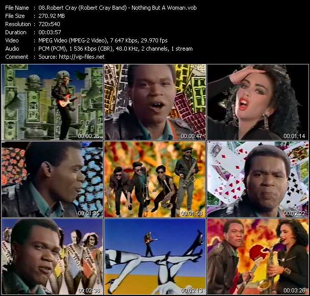 Robert Cray (Robert Cray Band) video screenshot