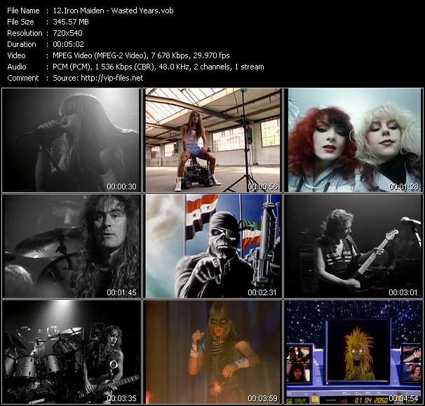 Iron Maiden video screenshot