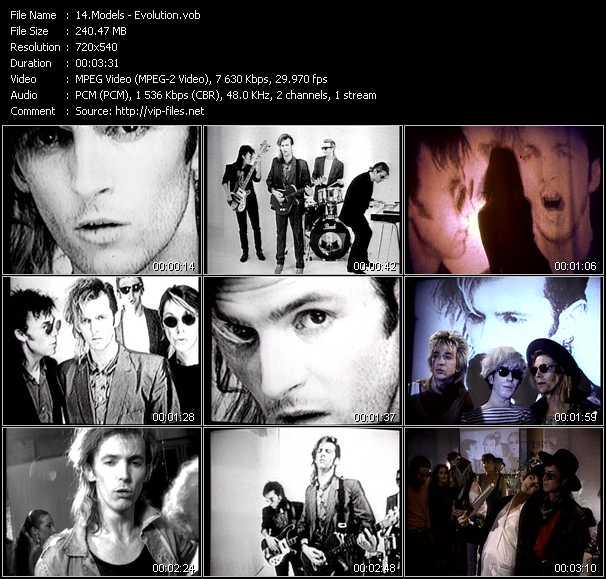 Models video screenshot