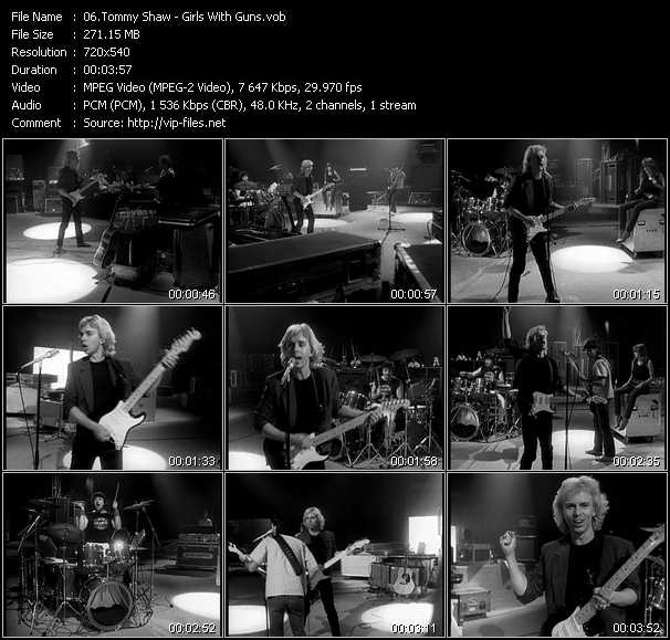 Tommy Shaw video screenshot