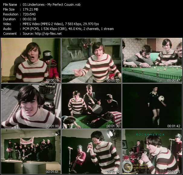 Undertones video screenshot