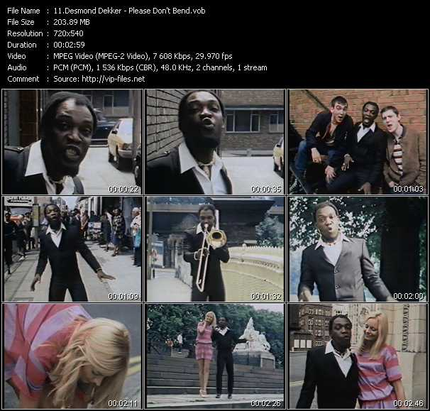Desmond Dekker video screenshot