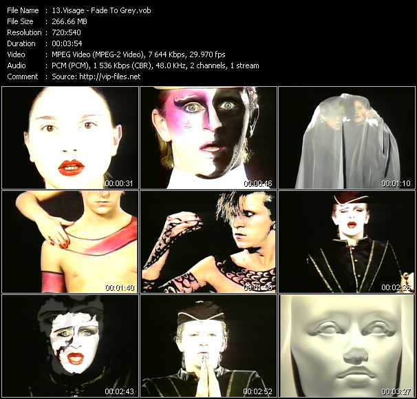 Visage video screenshot
