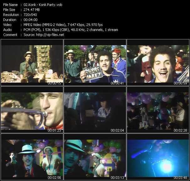 Konk video screenshot