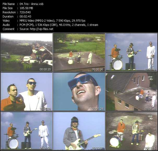 Trio video screenshot