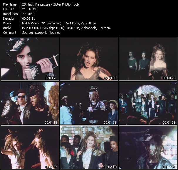 Haysi Fantayzee video screenshot
