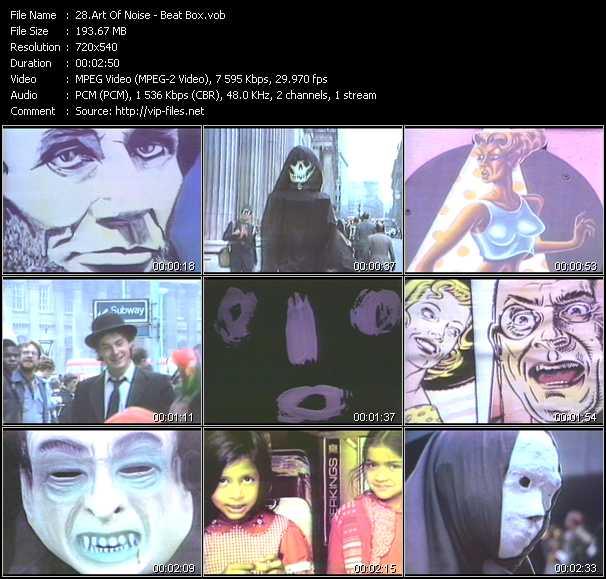 Art Of Noise video screenshot