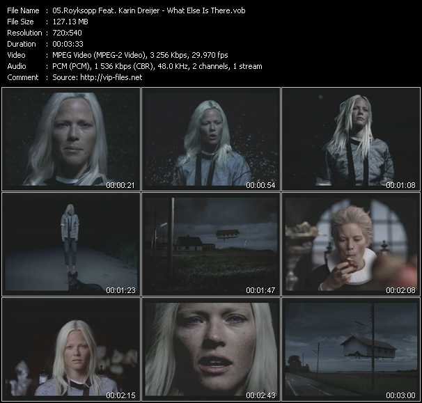 Royksopp Feat. Karin Dreijer video screenshot
