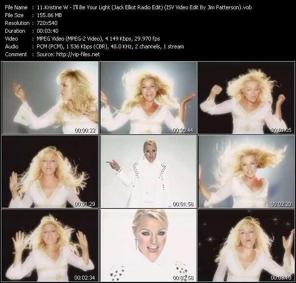 Kristine W video screenshot
