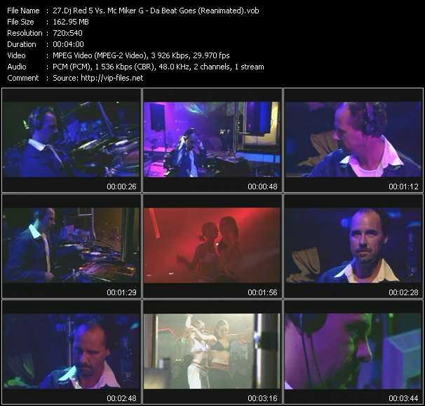 Dj Red 5 Vs. Mc Miker G video screenshot