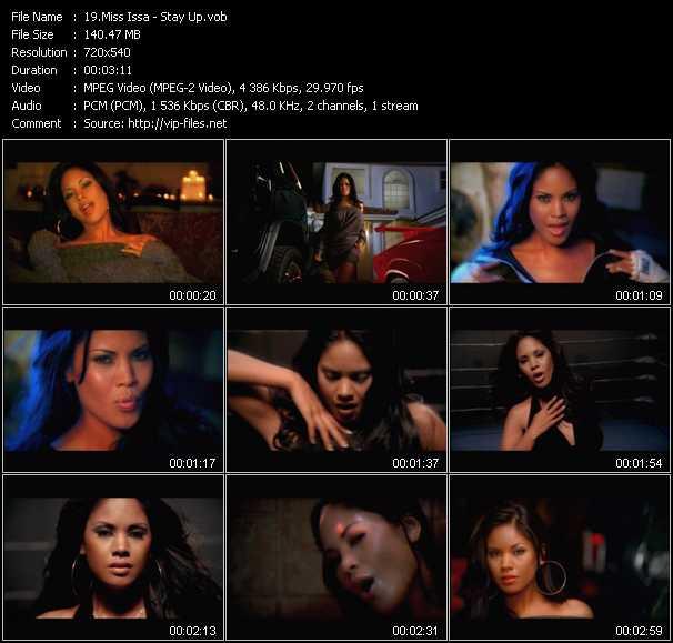 Miss Issa video screenshot