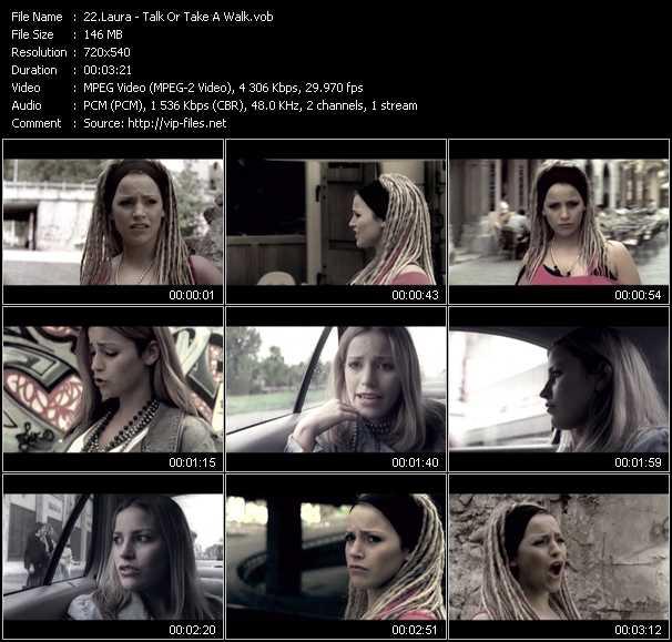 Laura video screenshot