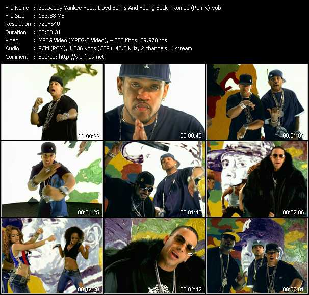 Daddy Yankee Feat. Lloyd Banks And Young Buck video screenshot