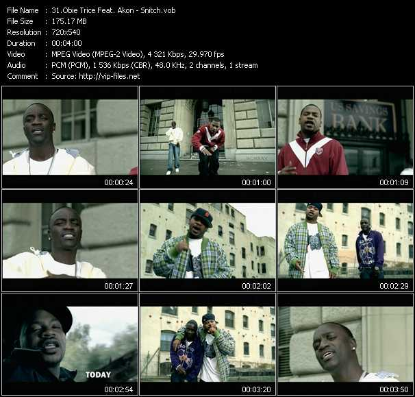 Obie Trice Feat. Akon video screenshot