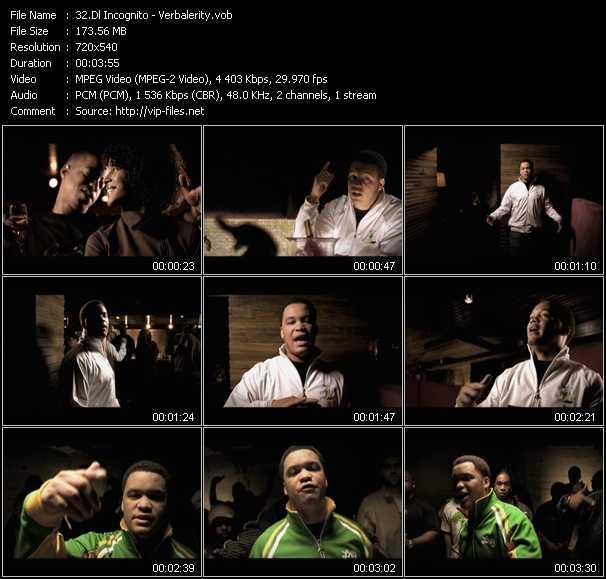 Dl Incognito video screenshot