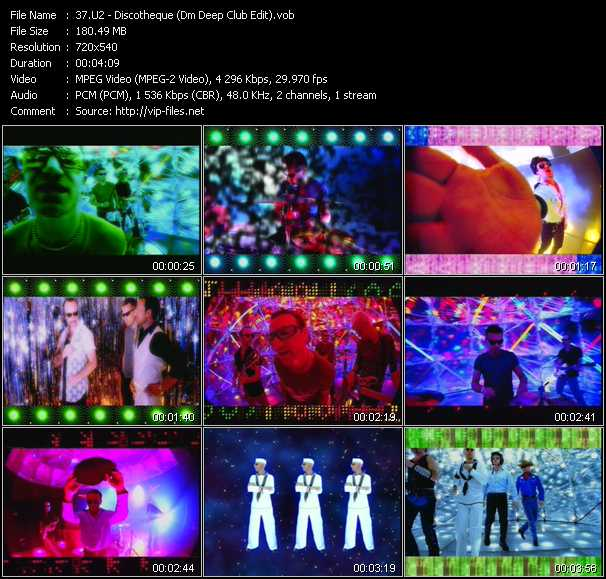 video Discotheque (Dm Deep Club Edit) screen