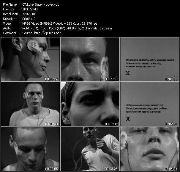 Luke Slater video screenshot