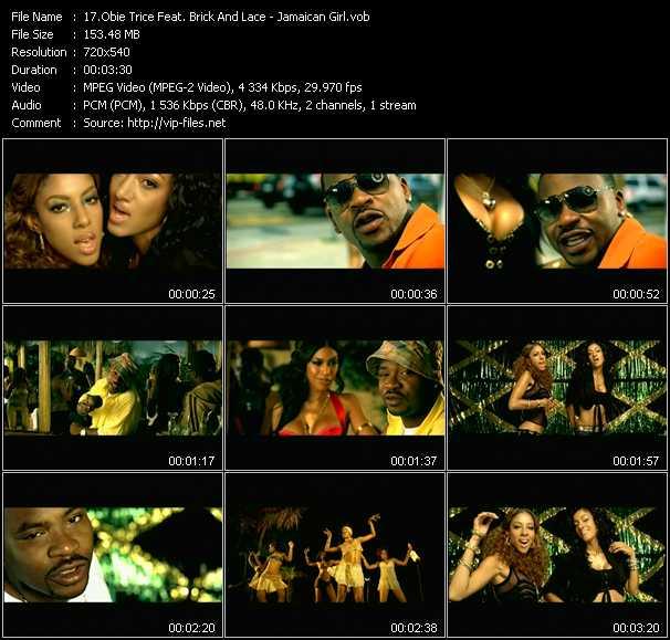 Obie Trice Feat. Brick And Lace video screenshot