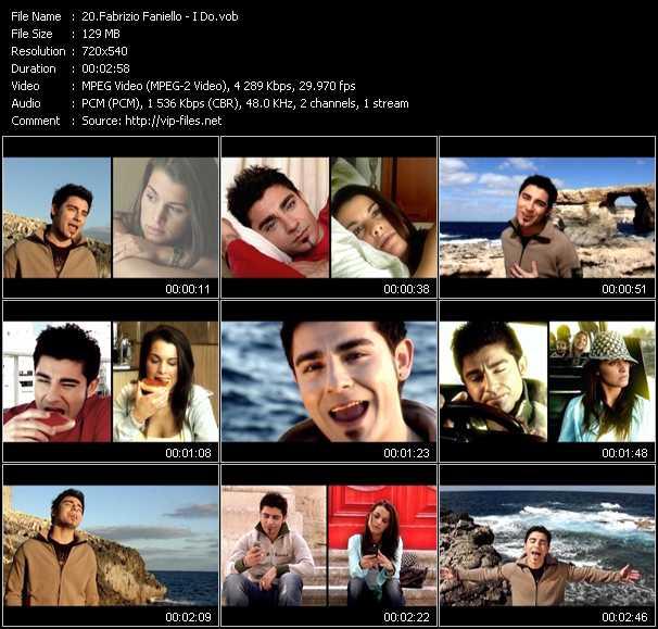 Fabrizio Faniello video screenshot
