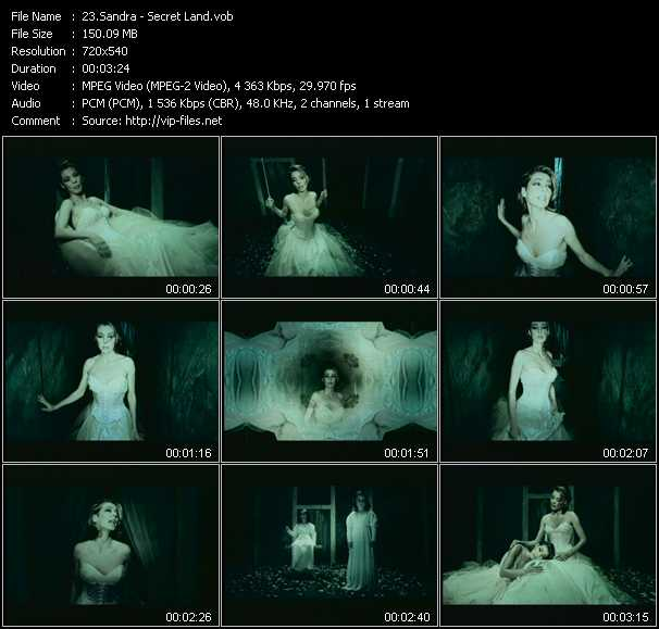 Sandra video screenshot