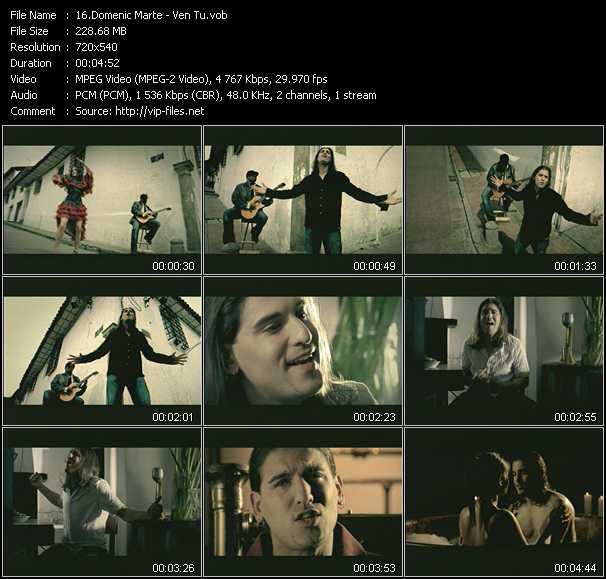 Domenic Marte video screenshot