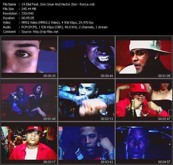 Eliel Feat. Don Omar And Hector Zion video screenshot