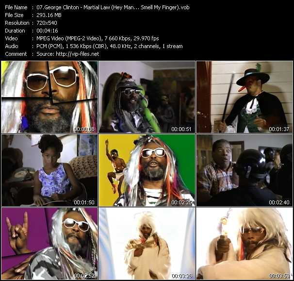 George Clinton video screenshot