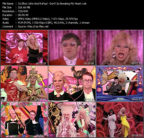 Elton John And RuPaul video screenshot