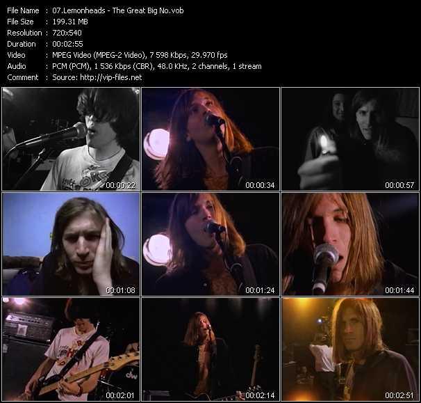Lemonheads video screenshot