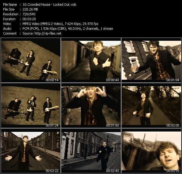 Crowded House video screenshot