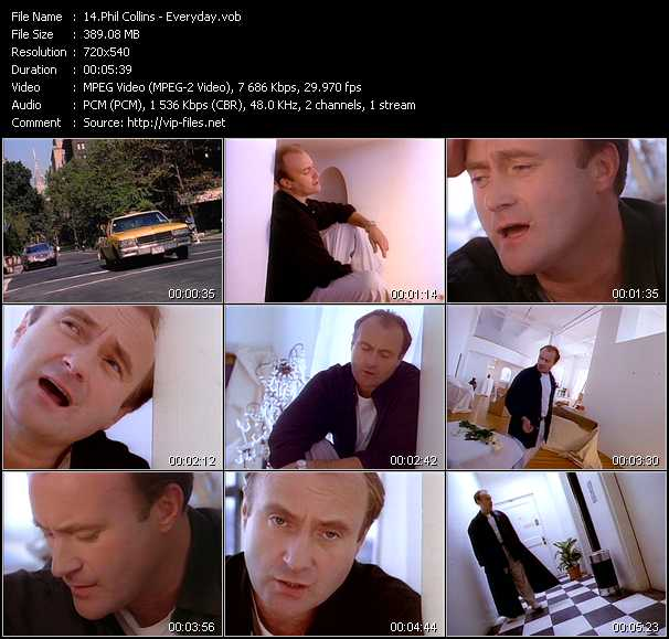 Phil Collins video screenshot