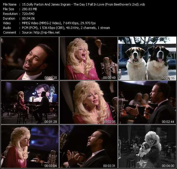 Dolly Parton And James Ingram video screenshot