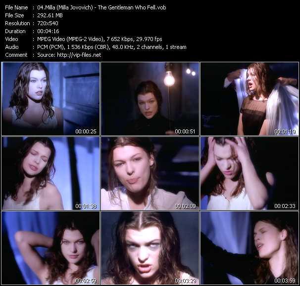 Milla (Milla Jovovich) video screenshot