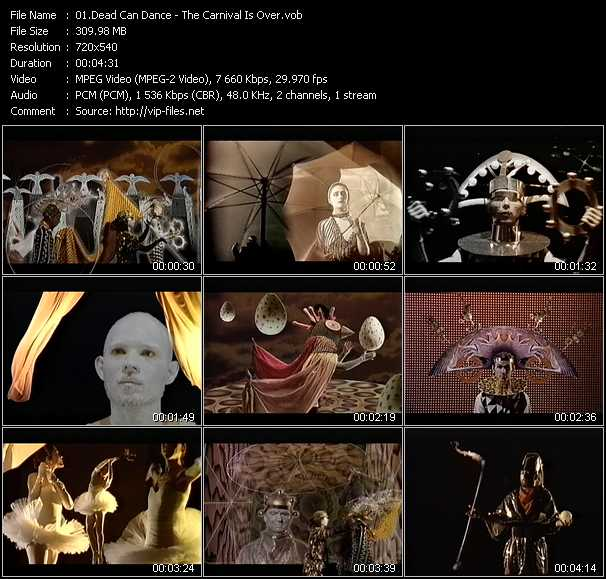 Dead Can Dance video screenshot