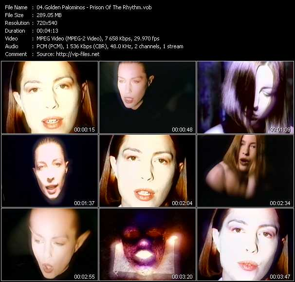 Golden Palominos video screenshot