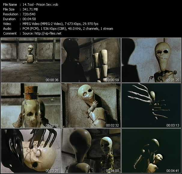 Tool video screenshot