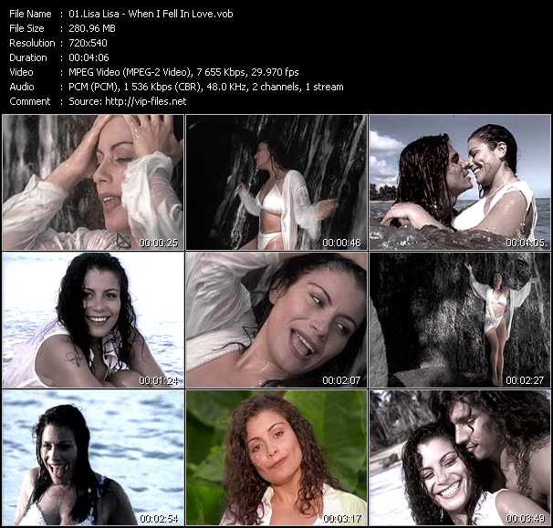 Lisa Lisa video screenshot