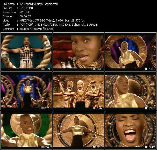 Angelique Kidjo video screenshot
