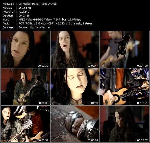 Madder Rose video screenshot