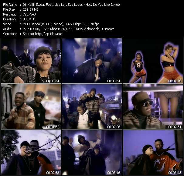 Keith Sweat Feat. Lisa Left Eye Lopes video screenshot