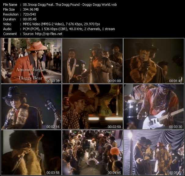 Snoop Dogg Feat. Tha Dogg Pound video screenshot
