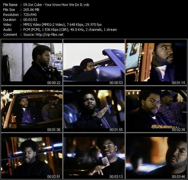 Ice Cube video screenshot